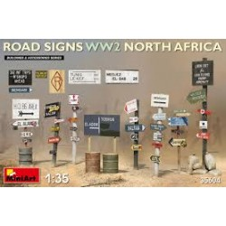 ROAD SIGNS WWII NORTH AFRICA 1/35