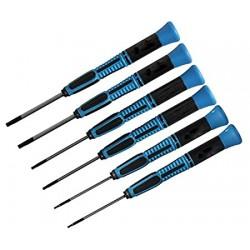 6-delige inbus schroeverdraaierset 0.9-1.3-1.5-2-2,5-3mm