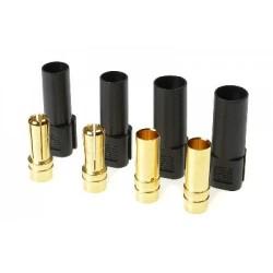 XT-150 goudcontacten 2xM 2xF ZW 2paar