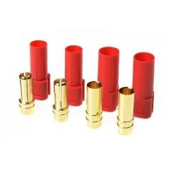 XT-150 goudcontacten 2xM 2xF RD 2paar