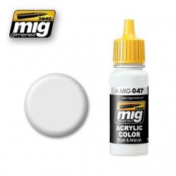 Mig satin white A.MIG-0047 17ml.