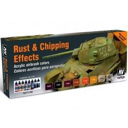 RUST EN CHIPPING EFFECTS 8X17ML.