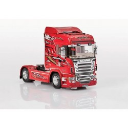 SCANIA R560 V8 HIGHLINE RED GRIFFIN 1/24