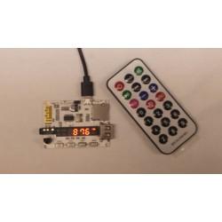 MP3, SD, AUX Bluetooth speler met FM radio