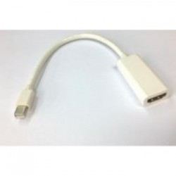 HDMI fem  mini DP male verloop