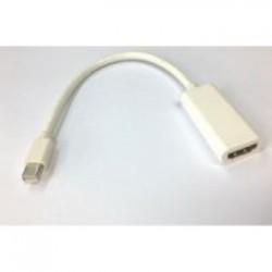 HDMI fem  mini DP male verloop