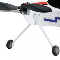Micro landingsgestel voor foam vliegtuigen