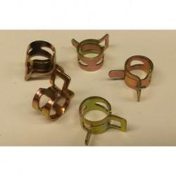 5x slangklem voor 9mm slang