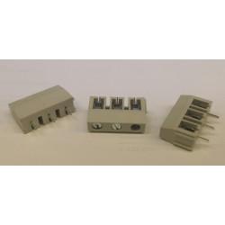 3 polig printkroonsteen 7.5mm (230V)