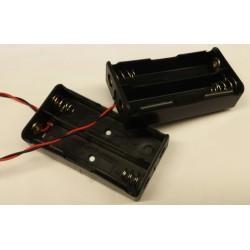 batterijhouder voor 2x 18650
