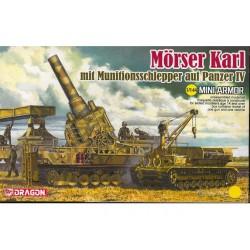 MORSER KARL MIT MUNITIONSSCHLEPPER 1/144