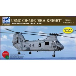 USMC CH-46E SEA KNIGHT HELI 1/350
