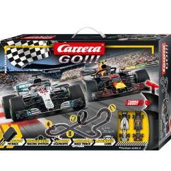 Carrera GO racebaan Max Speed 6,3mtr.