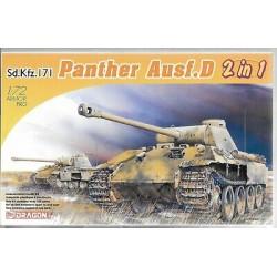 SD.KFZ.171 PANTHER D 1/72