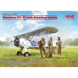 STEARMAN PT-17 WITH CADETS 1/32