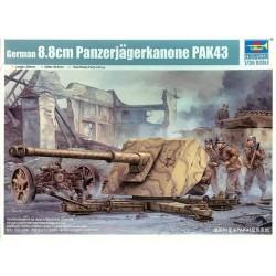 GERMAN 8.8CM PAK 43 1/35
