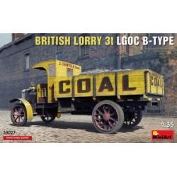 BRITISH LORRY 3T LGOC B 1/35