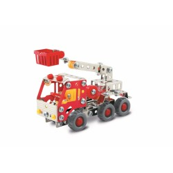 Brandweerwagen met hoogwerker
