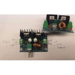 6-24V 8A spanning-motorregelaar