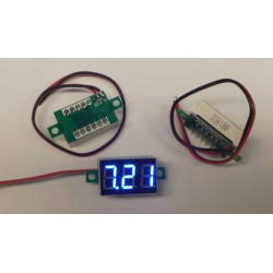 mini volt meter 4-30V 14x22mm