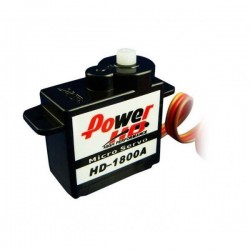 Ana. micro servo 1.2kg 0.08/60 20.8x11.6x26.5mm 8gr.