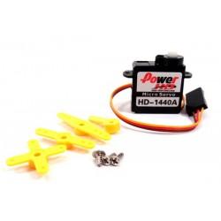 Ana. micro servo 0.8kg 0.10/60 20.2x8.5x20.2mm 4.4gr.