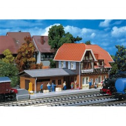 Faller N-scale 1/160 station 163x71x72mm