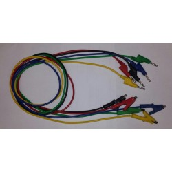 profi meetsnoeren 5 kleuren (1mtr)