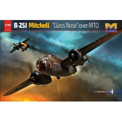 HK MODELS B-25J MITCHELL GLASS NOSE OVER MTO 1/32