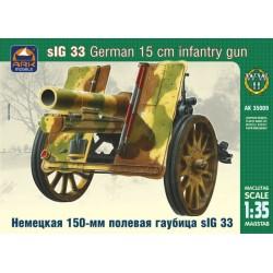 GERMAN 15CM INFANTRY GUN SIG 33 1/35