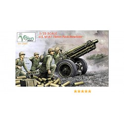 U.S M1A1 75MM PACK HOWITZER 1/35