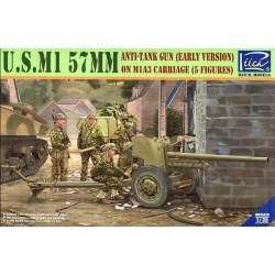 U.S. MI 57MM 1/35