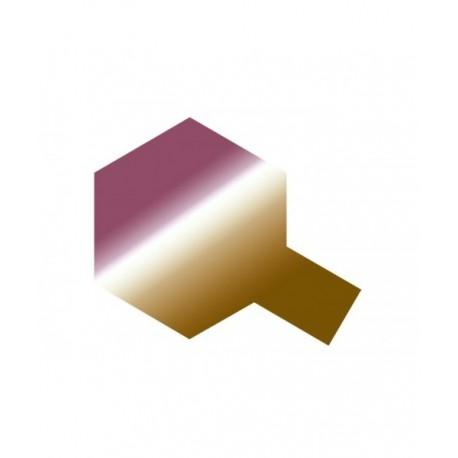 Polycarb spuitbus translucent pink/gold PS-47 100ml.