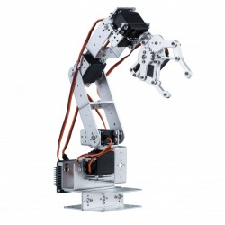 Aluminium hardware voor robotarm