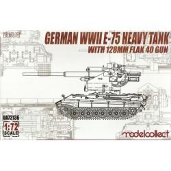 GERMAN WWII E-75 HEAVY TANK 1/72