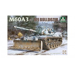M60A3 w/M9 BULLDOZER 1/35