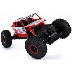 """4WD fun crawler """"rock climber"""" (8+) +ACCU/LADER rood"""