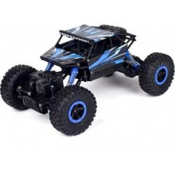 "4WD fun crawler ""rock climber"" (8+) +ACCU/LADER blauw"