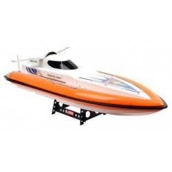 RTS brushed R/C speedboat 78cm 2xmotor (div.kleur)