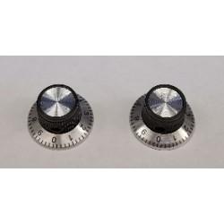 6mm Dial knop D-24mm