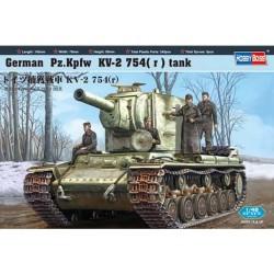 GERMAN PZ.KPFW KV-2 754 R TANK 1/48