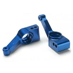 Traxxas TRX1952X alu stub axle carrier blue (R)