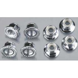 5mm flanged nuts 8st