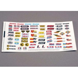 Traxxas TRX2514 decals racing sponcers