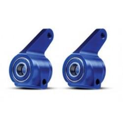 Traxxas TRX3636A steering blocks alu blue Rustler/stampede/bandit