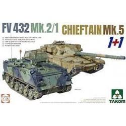 FV432 MK.2/1 + CHIEFTAIN MK.5 1/72