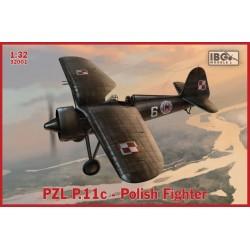 PZL P.11C POLISH FIGHTER 1/32