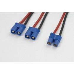 Y-kabel parallel 2xmale EC5