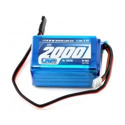 LiFe ontvanger accu 6,6V 2000mAh 55x32x33mm