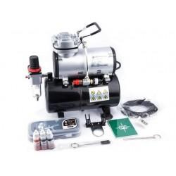 Airbrush starter set, met compressor en airbrush